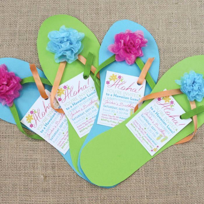 Hawaiian theme Party Invitations Printable Inspirational Free Printable Luau Birthday Invitations