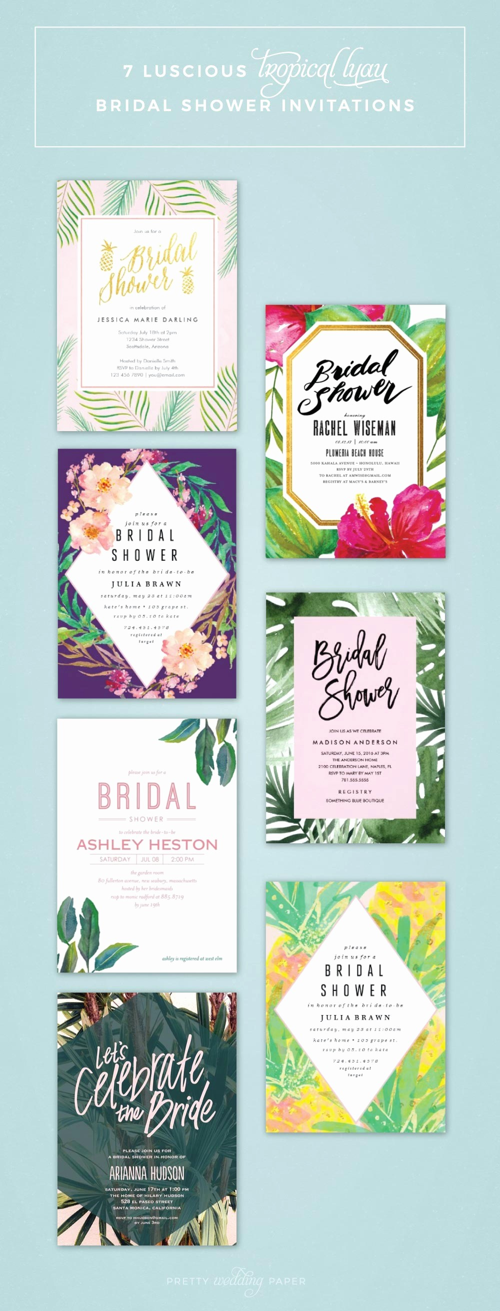 Hawaiian themed Invitation Templates Free Awesome Others Custom Luau Invitations for Your Tropical Getaway