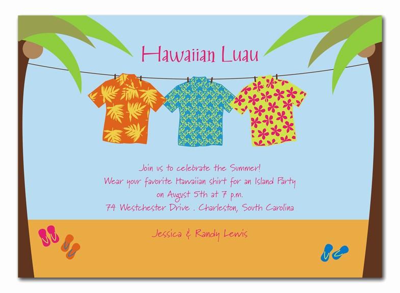 Hawaiian themed Invitation Templates Free Unique Blogsinteractive Blog