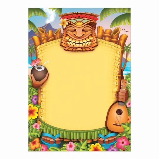 Hawaiian themed Invitation Templates Free Unique Luau Invitations Hawaiian Party Invitations