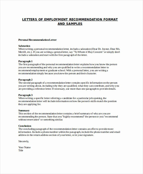 Heading for Letter Of Recommendation Best Of Family Reference Letter Picture – 40 Awesome Personal