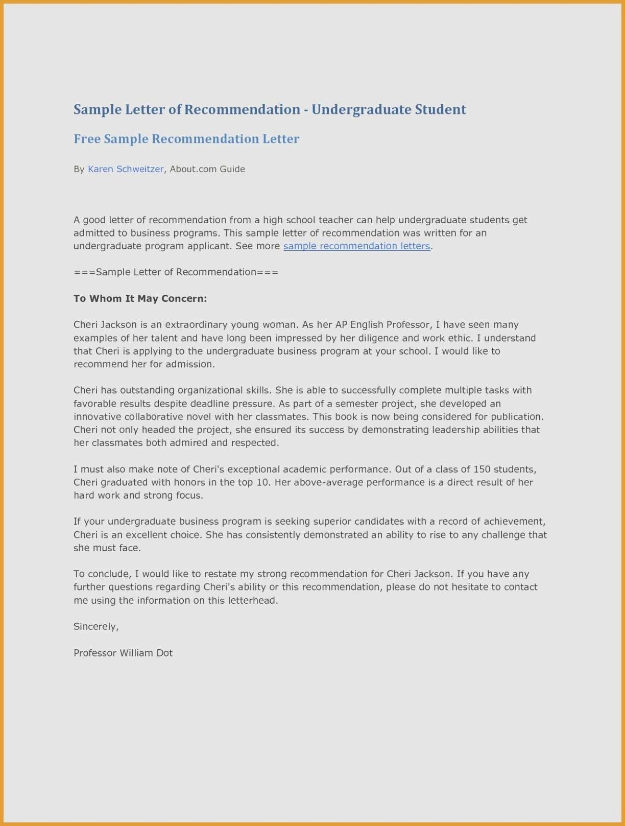 Heading for Letter Of Recommendation Fresh Sample Letter Re Mendation Heading Fresh Letter Re