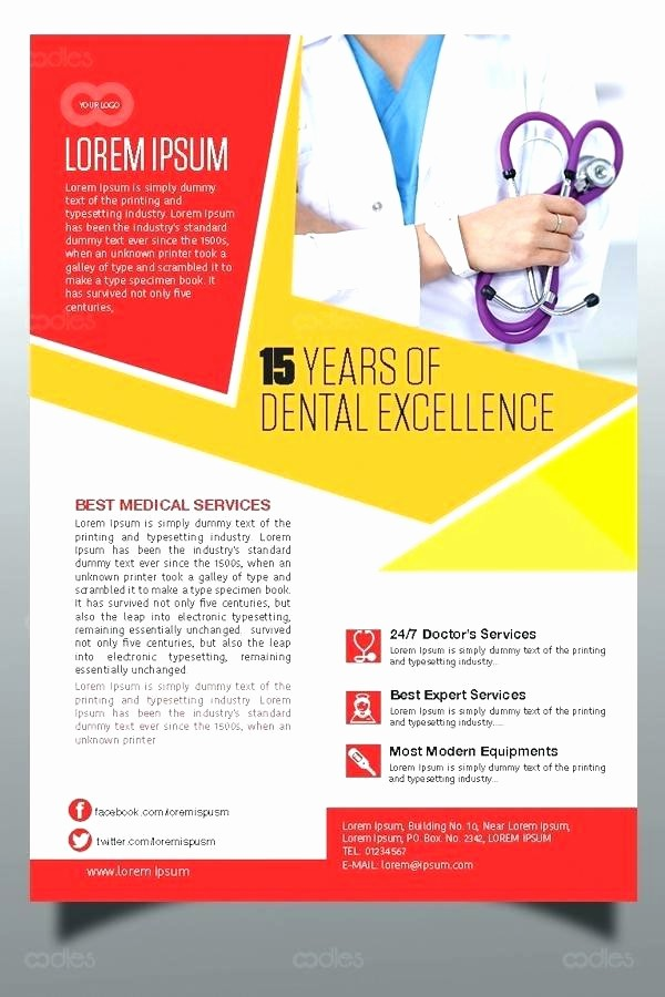 Healthcare Brochure Templates Free Download Awesome New Product Flyer Template Sales Free Brochure Beautiful