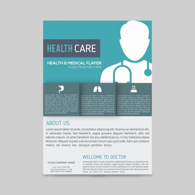 Healthcare Brochure Templates Free Download Best Of Modern Medical Brochure Template Vector