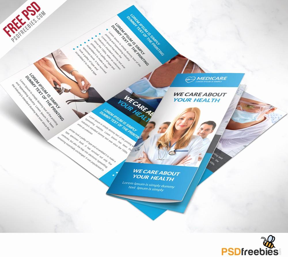 tri fold brochure free psd templates
