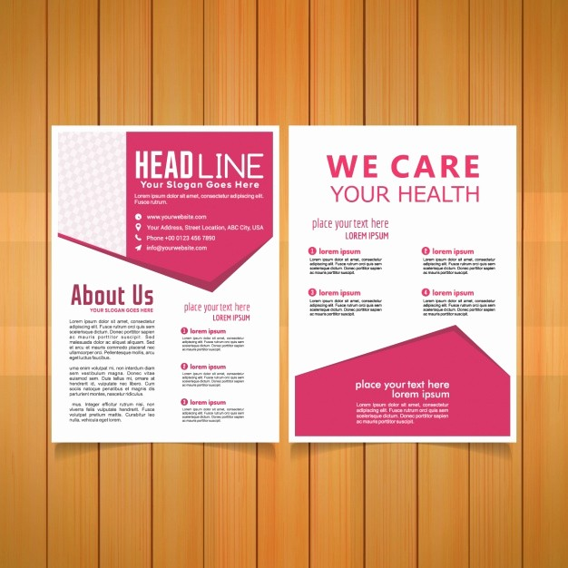 Healthcare Brochure Templates Free Download Elegant Medical Brochure Template Vector