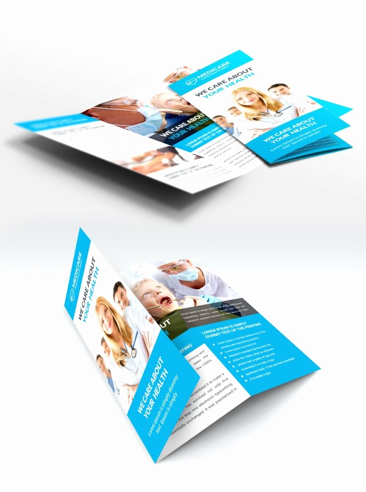 Healthcare Brochure Templates Free Download Fresh Medical Care and Hospital Trifold Brochure Template Free