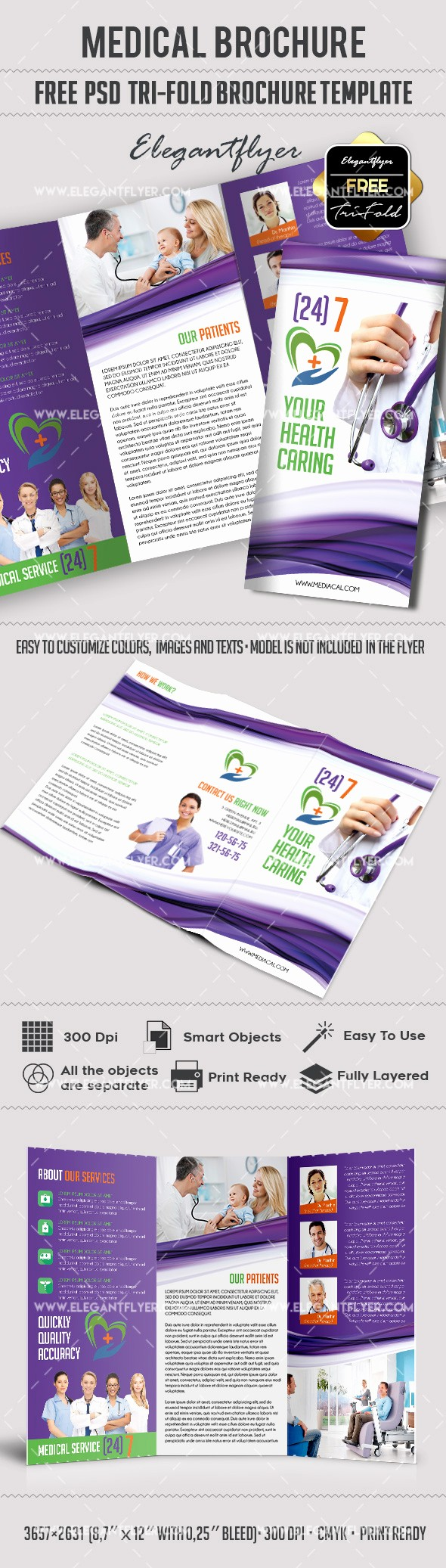 Healthcare Brochure Templates Free Download Inspirational Download Medical – Free Tri Fold Psd Brochure Template