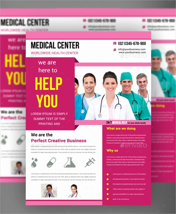 Healthcare Brochure Templates Free Download Inspirational Free Medical Flyer Templates Yourweek 284f43eca25e