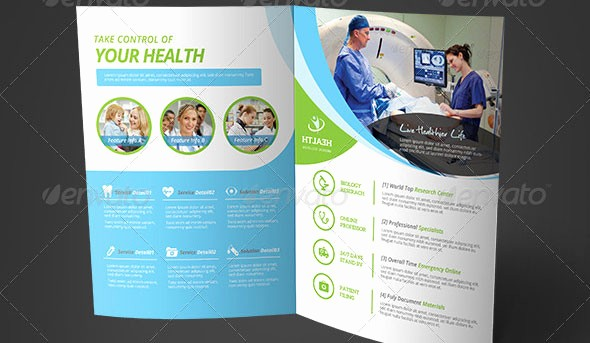Healthcare Brochure Templates Free Download Luxury Medical Brochure Template Csoforumfo