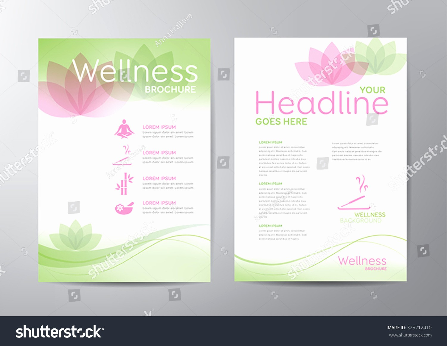 Healthcare Brochure Templates Free Download New Wellness Brochure Template Relaxation Healthcare Medical