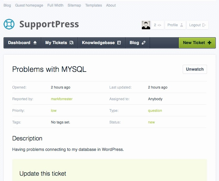 Help Desk Ticket Template Word New What Can I Do with Wordpress 47 Non Blog Ways to Use It