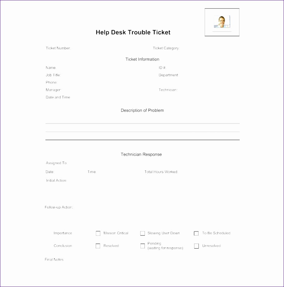Help Desk Ticket Template Word Unique 11 organizational Chart Template Excel Exceltemplates