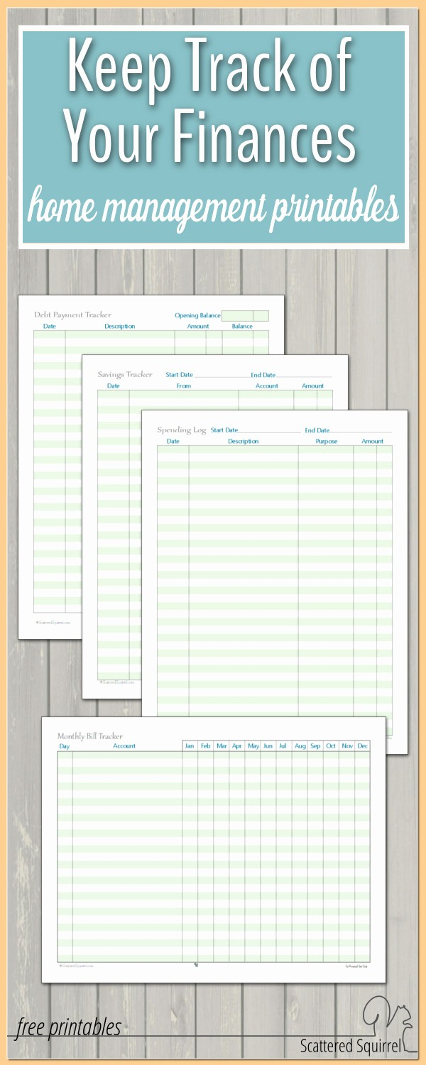 Help Me Manage My Money Elegant A Few More Finance Printables to Help You Stay On Track