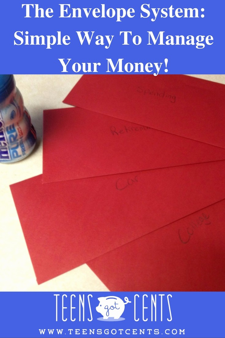Help Me Manage My Money Inspirational the Envelope System for Teens