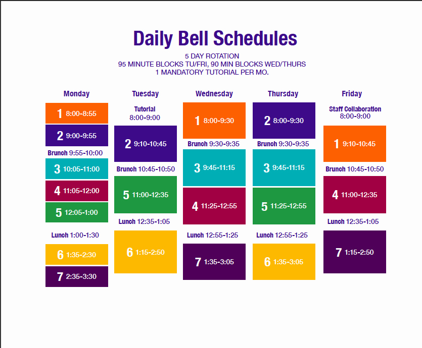 High School Class Schedule Example Elegant Quotes About Block Scheduling 26 Quotes