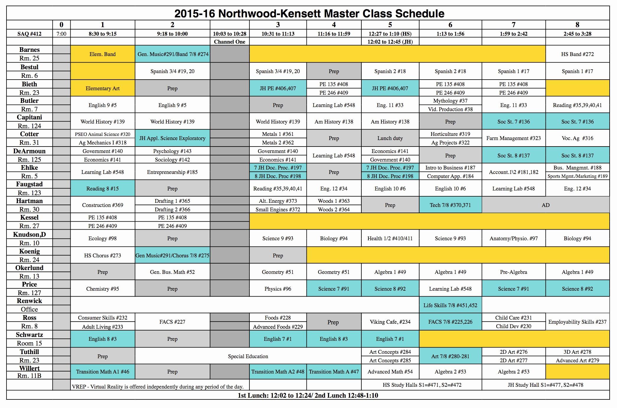 High School Class Schedule Sample Beautiful High School Bell Schedule Template Dimmitt isd Bell