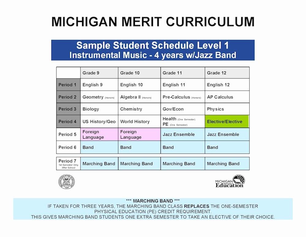High School Class Schedule Sample Beautiful High School Class Schedule Sample Sample Schedules