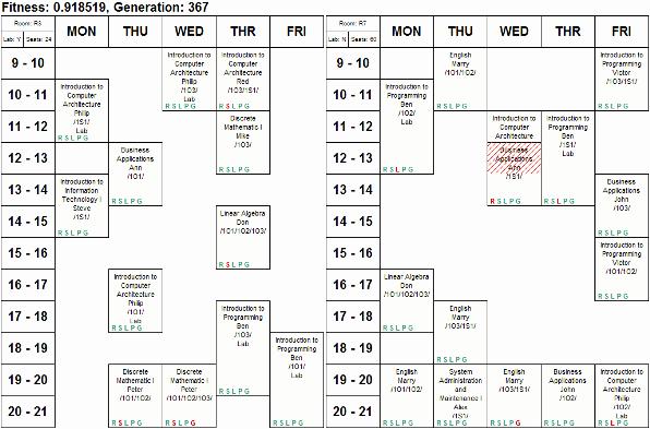 High School Class Schedule Sample New High School Class Schedule Template School Calendars