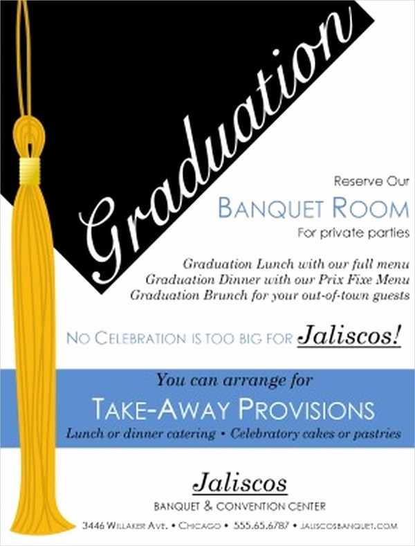 High School Graduation Program Template Beautiful 19 Graduation Flyers In Psd Ai Eps format Download