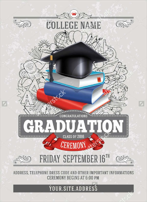 High School Graduation Program Template Best Of 42 Sample Graduation Invitation Designs & Templates Psd