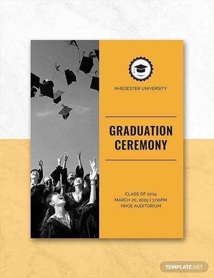 High School Graduation Program Template Elegant Free Graduation Programs Template Download 31 Program