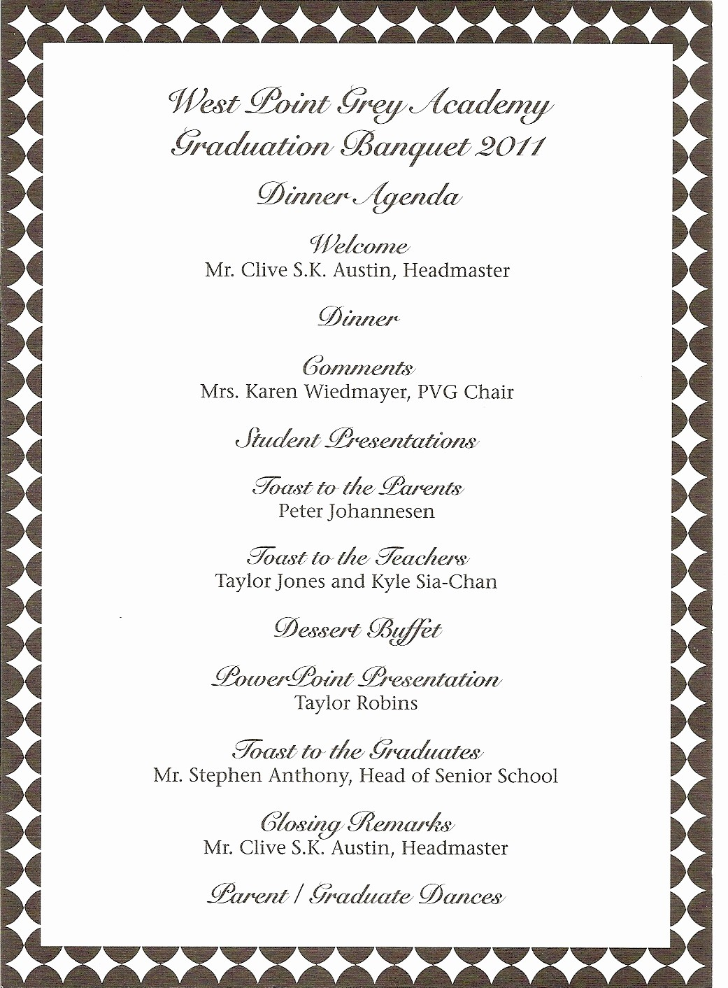 High School Graduation Program Template Fresh High School Mencement Ceremony Program Want to Make