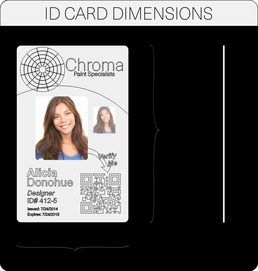 High School Id Card Template Beautiful Id Card Layout and Artwork Guidelines