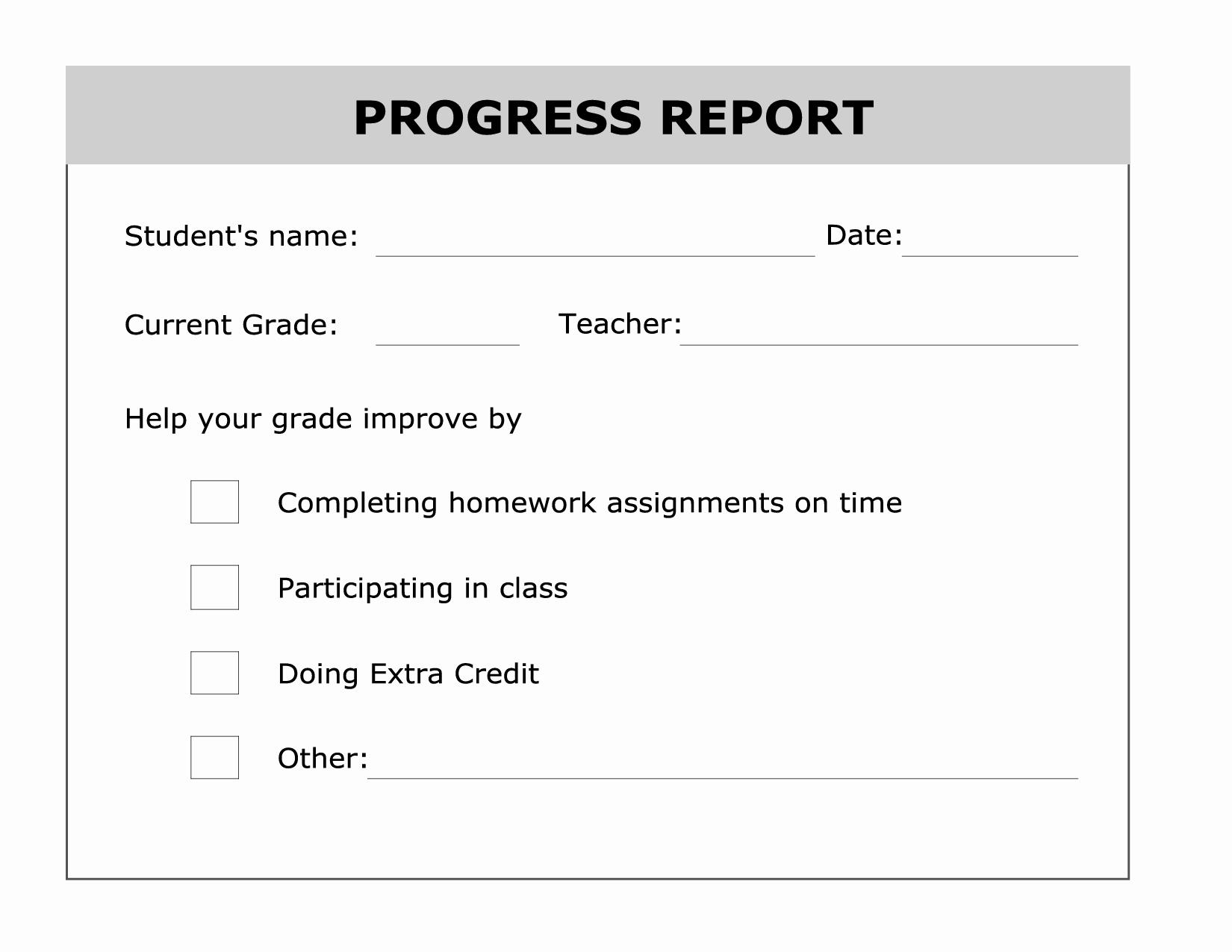 High School Id Card Template Best Of Printable Progress Report Template