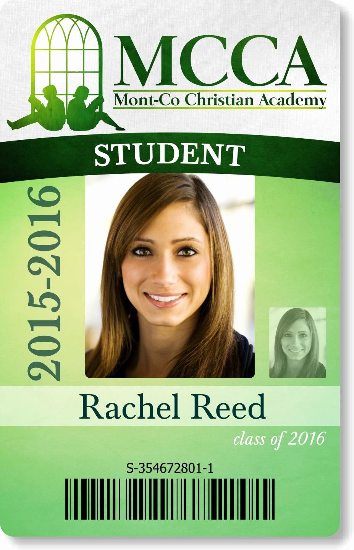 High School Id Card Template Elegant Sample Card Designs