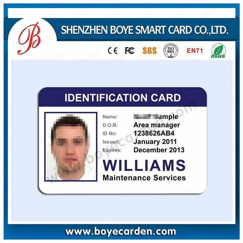 High School Id Card Template Inspirational الصين الصانع الموظفين تصميم بطاقة الهوية بطاقة هوية الطالب