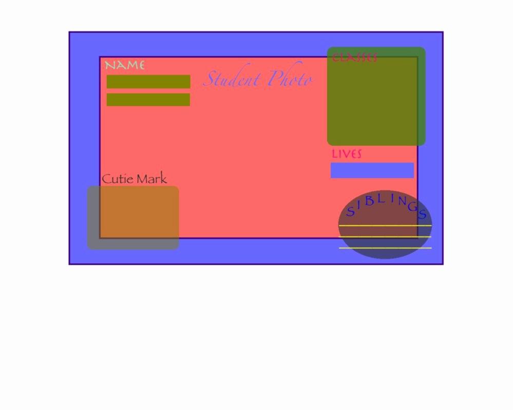 High School Id Card Template New Celestia High Student Id Card Template by Minecraftlover45