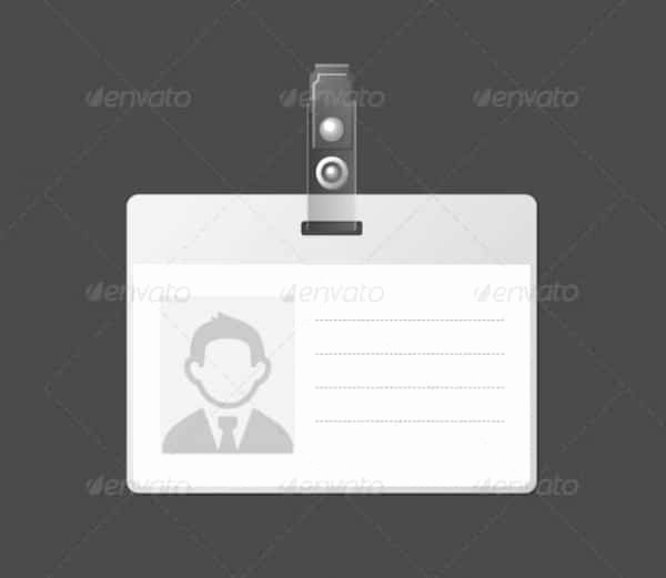 High School Id Card Template Unique 40 Blank Id Card Templates Psd Ai Vector Eps Doc