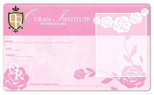 High School Id Card Template Unique Blank Ouran Academy Id Card