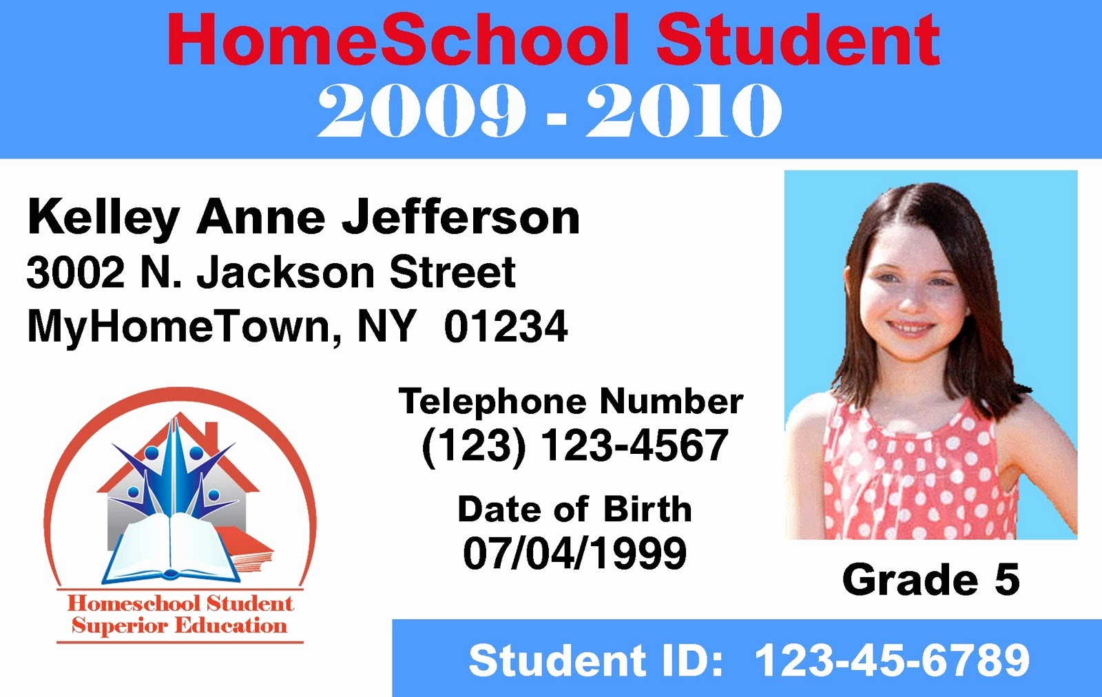 High School Id Card Template Unique Make Id Cards & Id Card Printers