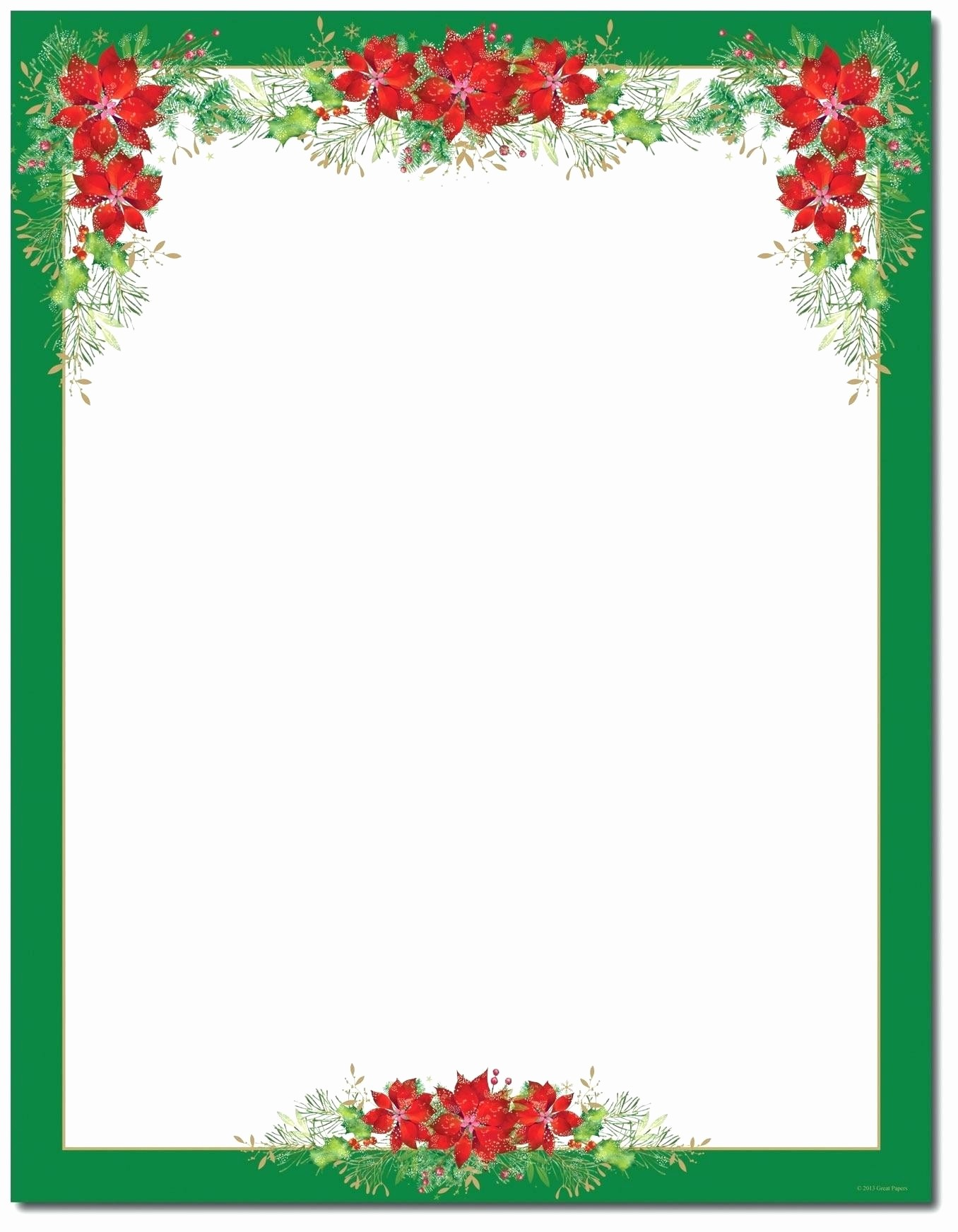 Holiday Border for Microsoft Word Elegant Free Holiday Borders for Microsoft Word