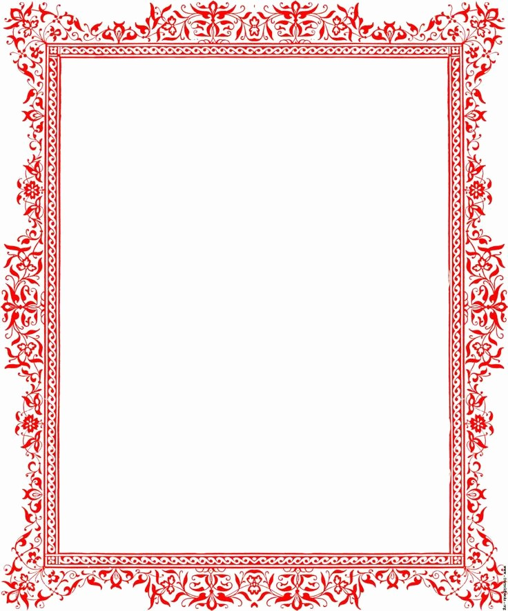 Holiday Border for Microsoft Word Fresh Christmas Border for Microsoft Word Document – Fun for