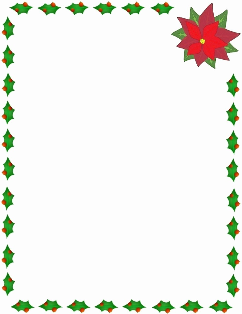Holiday Border for Microsoft Word Lovely Microsoft Word Christmas Borders