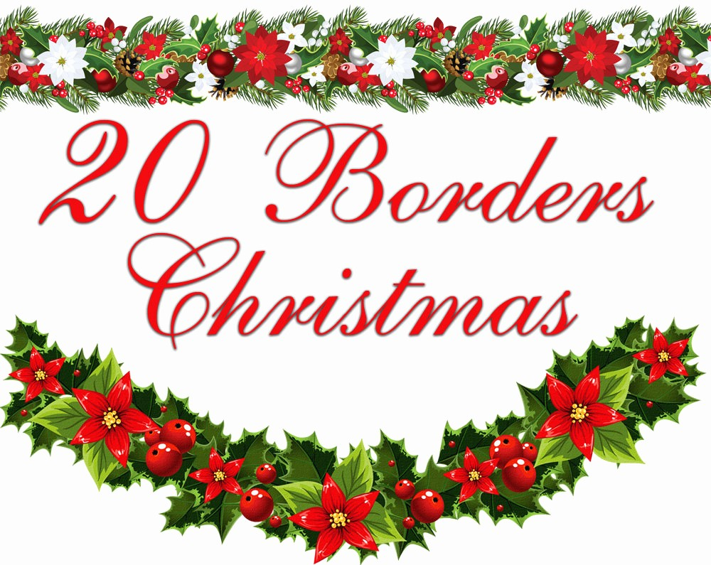 Holiday Border for Microsoft Word Lovely Ms Word Christmas Border