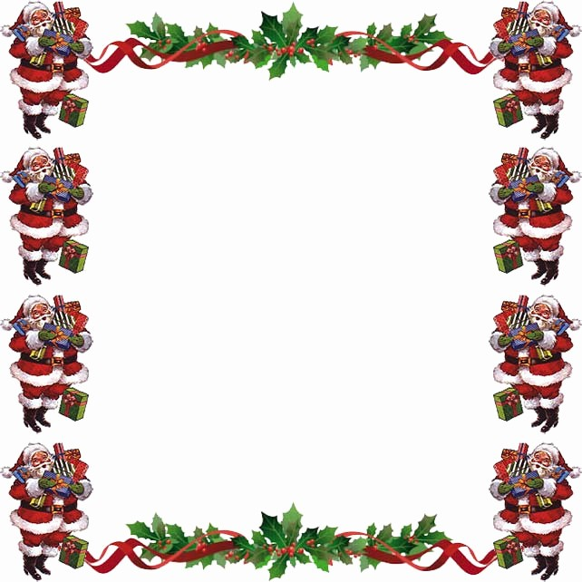 Holiday Border for Microsoft Word Luxury Christmas Page Borders Microsoft Word