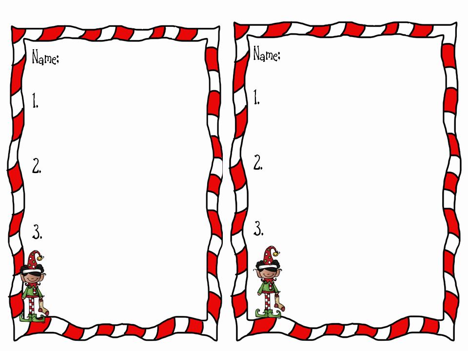 Holiday Border for Microsoft Word New Christmas Border for Word