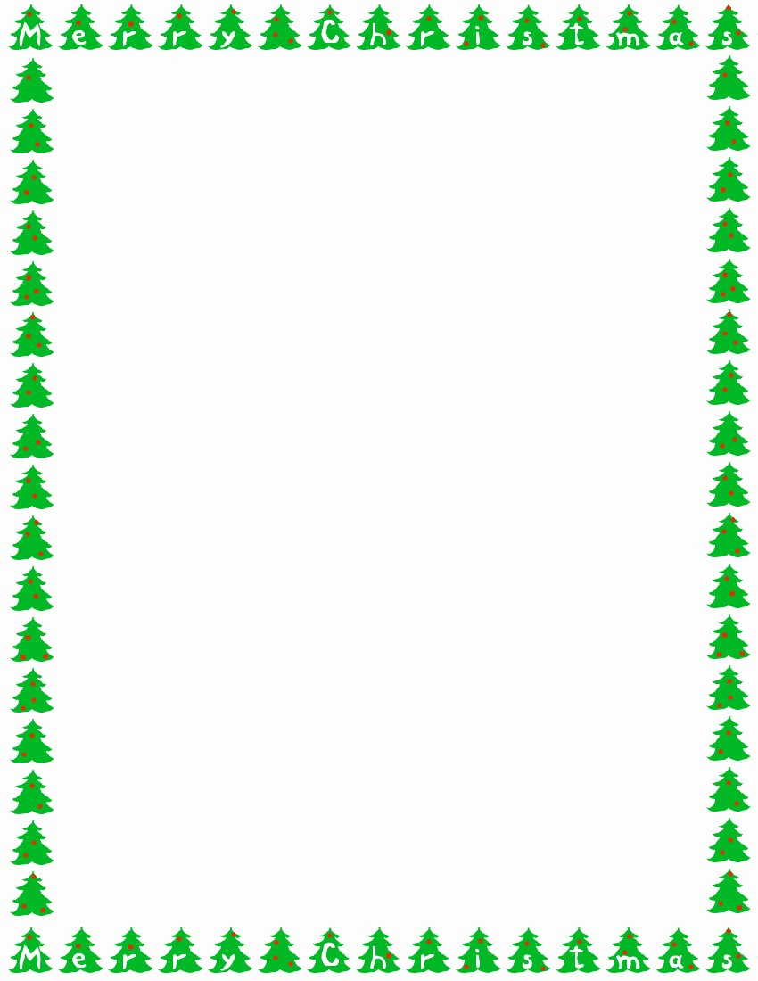 Holiday Border for Microsoft Word New Christmas Borders for Microsoft Word