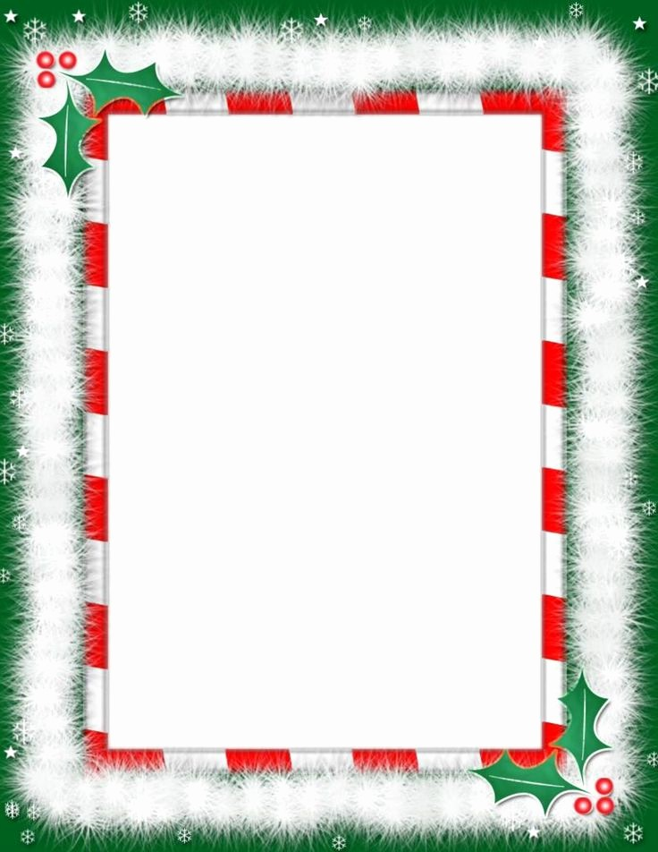 Holiday Border for Microsoft Word New Heart Word Borders Templates Free