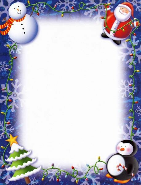 Holiday Page Borders for Word Awesome Christmas Border for Free Download
