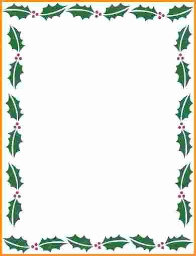 Holiday Page Borders for Word Awesome Christmas Page Borders Microsoft Word