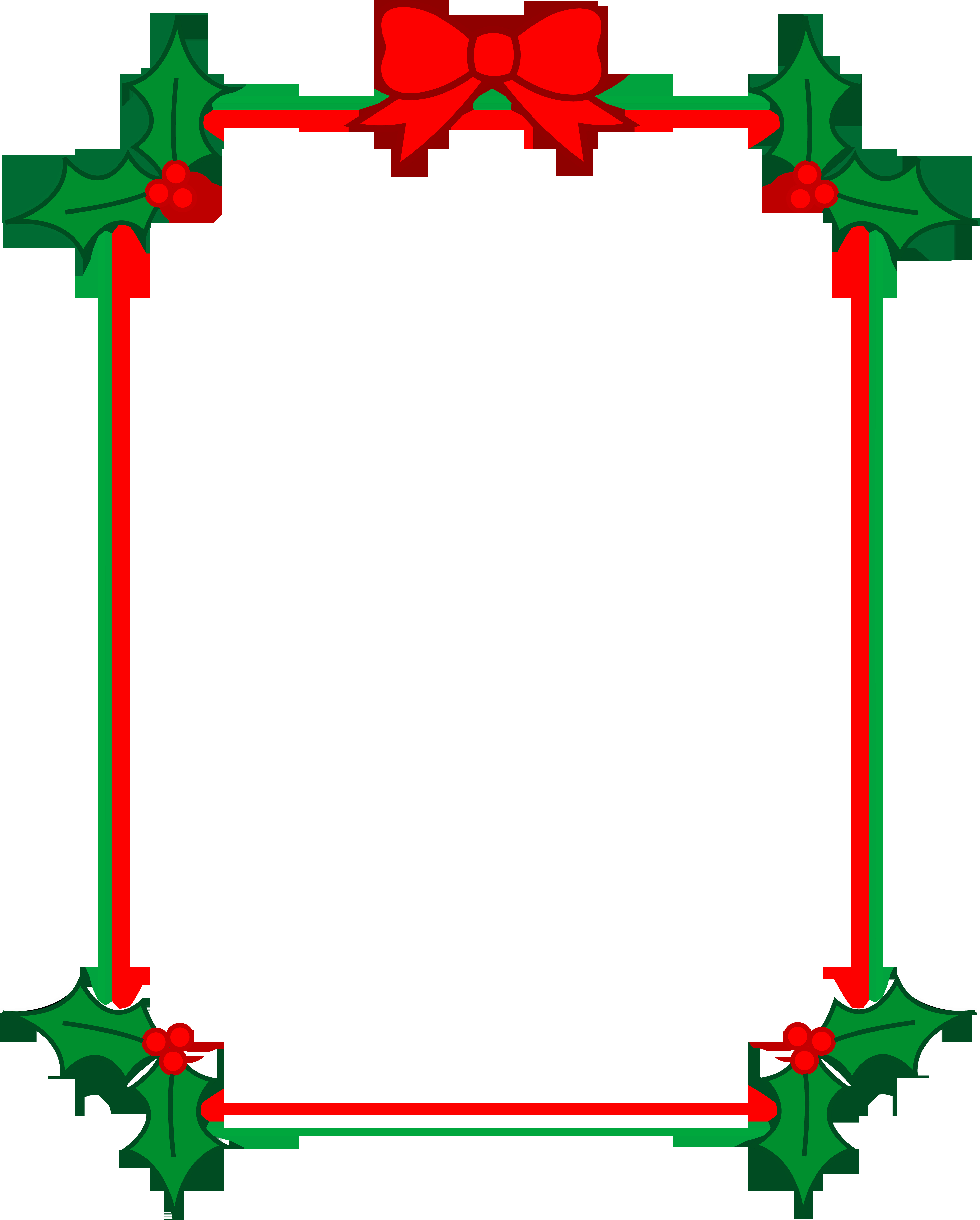 Holiday Page Borders for Word Awesome Look Free Clip Art
