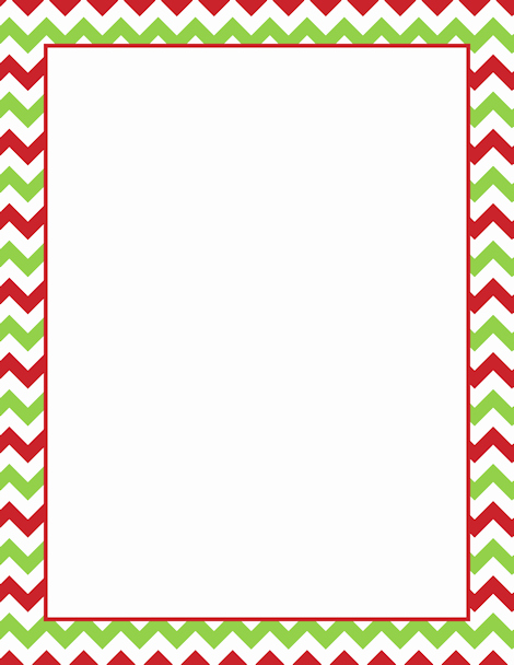 Holiday Page Borders for Word Elegant Printable Christmas Chevron Border Free Gif Jpg Pdf