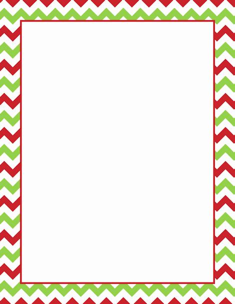 Holiday Page Borders for Word Elegant Printable Christmas Chevron Border Free Gif Jpg Pdf