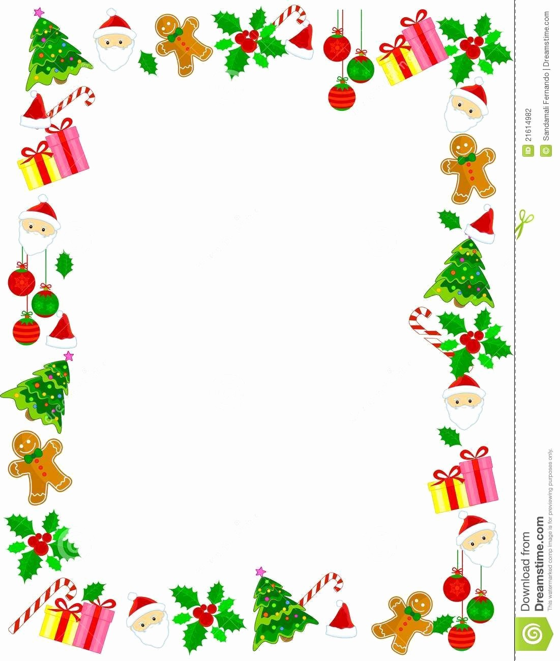 Holiday Page Borders for Word Inspirational Christmas Border Frame Download From Over 50 Million