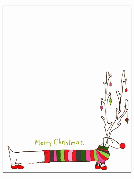 Holiday Paper Templates Free Download Awesome Free Christmas Letter Templates